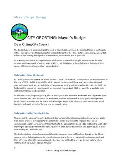 Mayor of Orting Josh Penner Balanced Budget 2018-19 (1 )