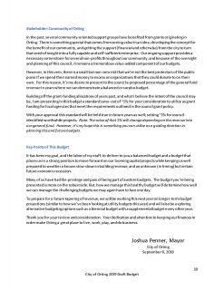 Mayor of Orting Josh Penner Balanced Budget 2018-19 (2)