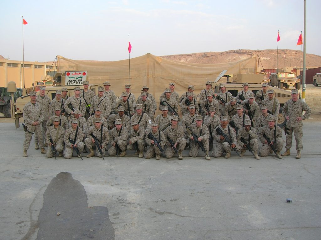 Mayor Penner serving in CLB1- Communications Platoon (2006)